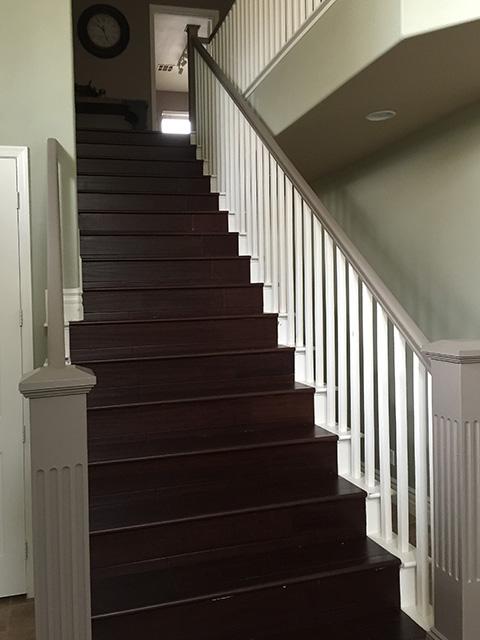 Home remodeling stairway